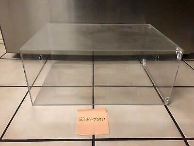 KicksCase Clear Plastic Sneaker Display Case With Magnetic Clamps