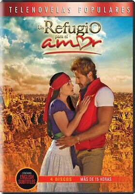 UN REFUGIO PARA EL AMOR New 4 DVD 14 Hours 2012 Telenovela A Shelter for Love