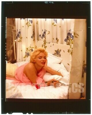 MARILYN MONROE BY CECIL BEATON 1956 BREATHTAKING VINTAGE 4x5 TRANSPARENCY