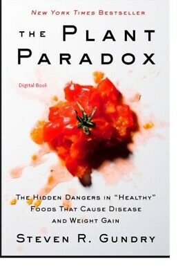 The Plant Paradox by Dr. Steven R Gundry M.D Fast Delivery