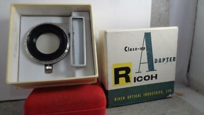 Ricoh Close-up Adapter  F/2.8 No 1 IM 50cm in Box  Vintage