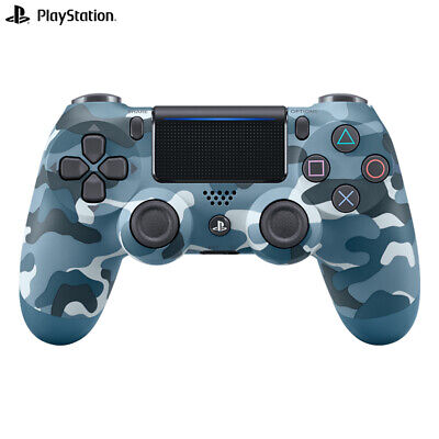 """OFFICIAL SONY PS4"" DUALSHOCK 4 WIRELESS CONTROLLER - NEW & SEALED Blue Camo"
