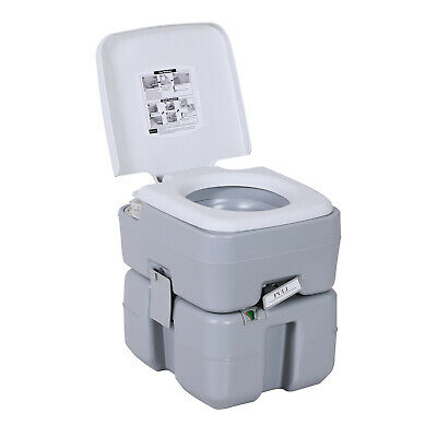 Advanced Portable Camping Travel Toilet Flush 20L 5.3 Gallon Piston Pump Flush