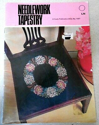 NEEDLEWORK TAPESTRY - COATS SEWING GROUP  PATTERNS No. 1007 Crafts Book