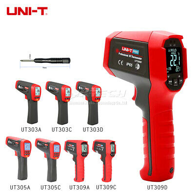 UNI-T Laser Infrared Thermometer Professional IR Gun Industry Temperature Meters