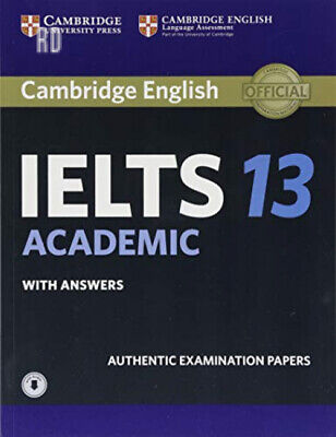 Cambridge IELTS 13 Academic Student's Book with Answers Audio: Authentic...