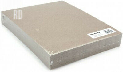 Grafix 8.5 x 11-inch Medium Weight Chipboard Sheets, Pack of 25, Natural Brown