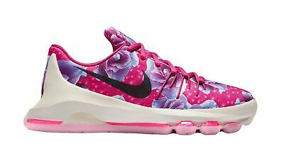 6698380d351e Nike Zoom Kd 8 Viii Aunt Pearl Kevin Durant Pink Floral 6Y Basketball 837786  603