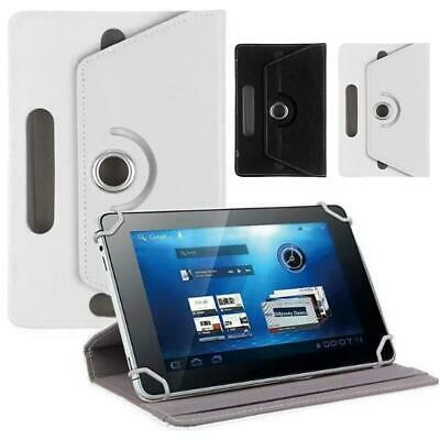 """10.1"""" Universal Tablet Leather Flip Tab Stand Case Rotate Cover For A6 T580 T585"""
