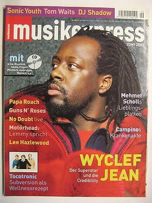 Musik Express Sounds 2002 # 6 - Wyclef Jean Guns N' Roses Motörhead Sonic Youth