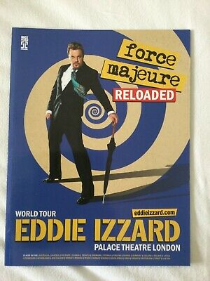 Eddie Izzard - Force Majeure Reloaded - Theatre Programme