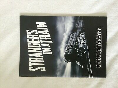 Strangers On A Train Theatre Programme - Starring Laurence Fox