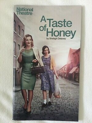 A Taste Of Honey Theatre Programme- Lesley Sharp - National Theatre