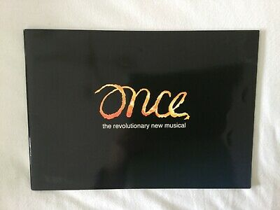 Once Theatre Programme Starring David Hunter