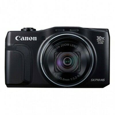 Digital Camera - Canon PowerShot SX710 HS 20.3MP - Used Black with Bag