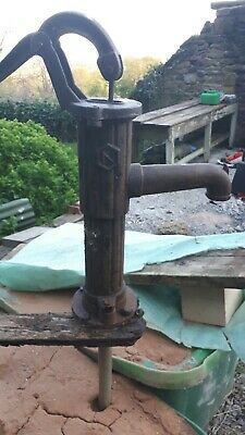 Antique, Vintage, Cast Iron Old fashioned hand water pump. Garden Feature ??