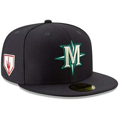 the latest af78c 19f5d Seattle Mariners New Era 2019 Spring Training 59FIFTY Fitted Hat - Navy