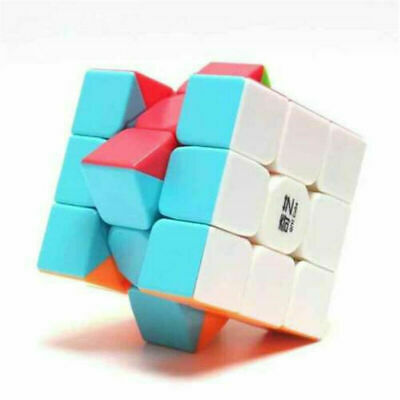 3x3 ABS Magic Cube Game Kids Puzzle Ultra-Smooth Twist Rubic's Rubiks Rubix Toy
