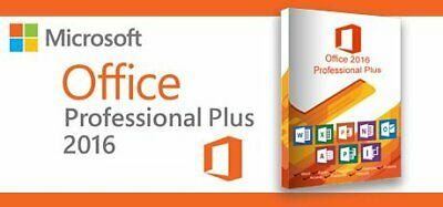 Microsoft Office 2016 Professional Plus 32-64 Bit Instant Delivery Digital Key