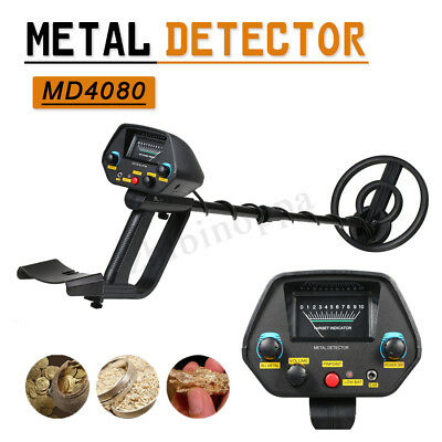 MD4080 Underground Metal Detector Gold Stud Finder Treasure Jewelry Digger tool
