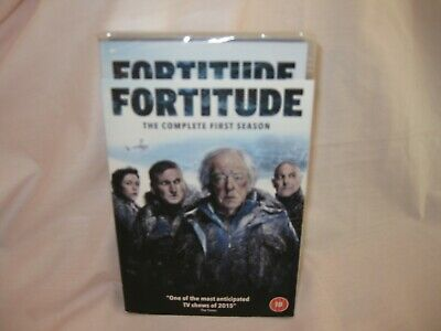 Fortitude Complete First Season 3-Disc Dvd Set  Brand New & Sealed