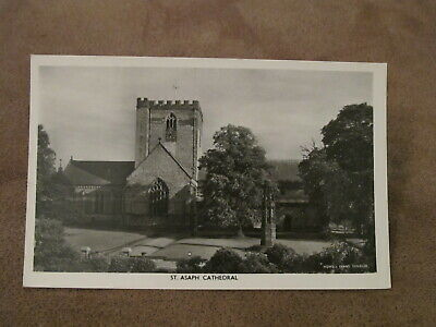 Real Photographic postcard - St Asaph Cathedral - Denbighshire