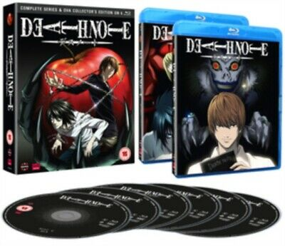 Death Note: Complete Series And Ova Collection [Blu-ray]