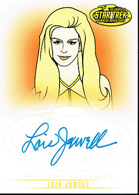Star Trek The Original Series Art And Images Autograph Card A35 Lois Jewell
