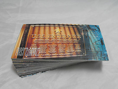 Star Trek First Contact Complete Basic Set Of 60 Cards