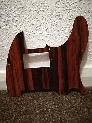 solid wood 8-hole pickguard scratchplate for telecaster