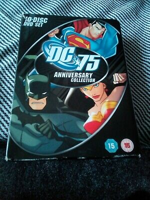 Dc 75 Anniversary Collection Dvd