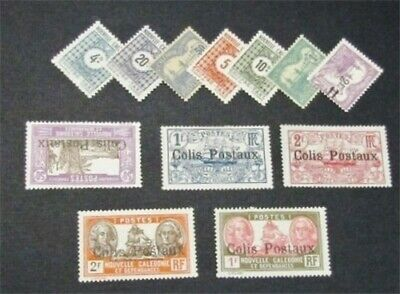 nystamps French New Caledonia Stamp # J11//Q6 Mint OG H $35