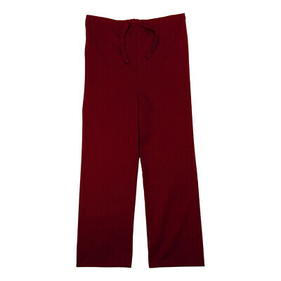 GelScrubs Kids Crimson Scrub Pants, Large (9-12 Years Old) 6775-CRI-L