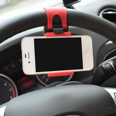 New Car Steering Wheel Universal Mount Holder Stand for Cell Phone GPS Hot SALE