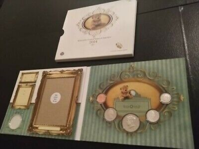 2014 US Mint Born in the United States Baby picture coin Birth set-NEW Condition