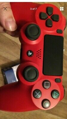 Sony Dualshock 4 V2 Wireless Controller for PlayStation 4 - Ps4 Magma Red