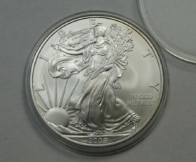 2009 American Silver Eagle ~ 1 Ounce Fine Silver ~ One Dollar Coin