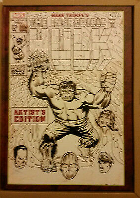 Herb Trimpe's The Incredible Hulk Artist's Edition IDW Hardcover NEW
