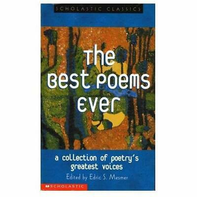 The Best Poems Ever (Scholastic Classics) - Paperback NEW Various April 2002