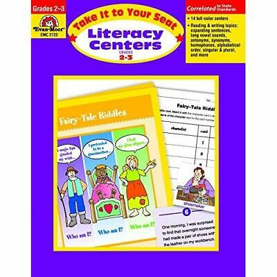 Literacy Centers Grades 2-3: EMC 2723 (Take It to Your  - Paperback NEW Moore, J