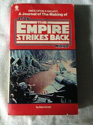 star wars vintage empire strikes back a journal of the making of paperback book