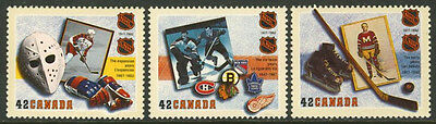Canada 1443-5 MNH Ice Hockey, Sports