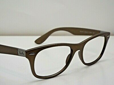 31d7501b87 Authentic Ray-Ban RB 4207 6033 T5 LITEFORCE Metallic Brown Sunglasses Frame   320