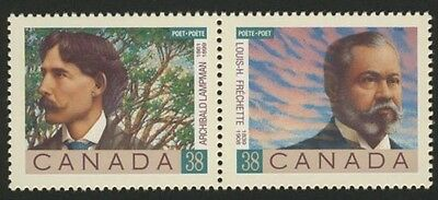 Canada 1244a MNH Canadian Poets,  Frechette, Lampman