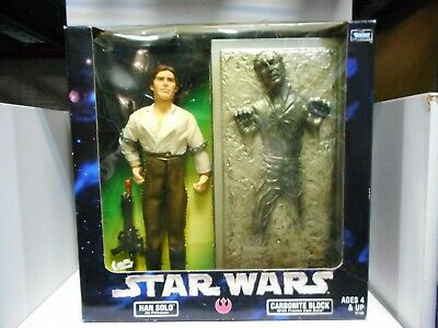 Han Solo & Carbonite Block Star Wars Kenner Hasbro Figure 12 Inch 1:6 Scale