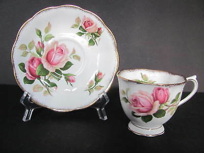 Royal Albert Anniversary Rose Cup And Saucer Set