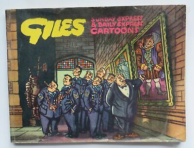 Giles Cartoon Annual Original 8th  Edition Daily Express Eighth