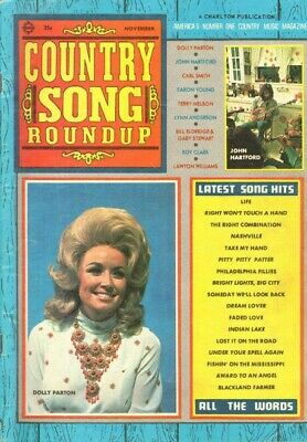 1971 November Country Song Roundup Magazine Back-Issue