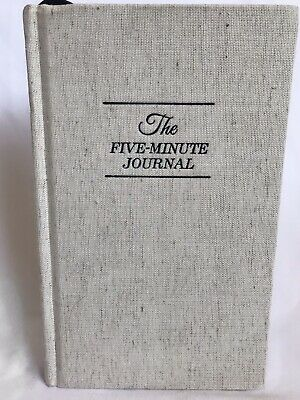The Five Minute Journal New
