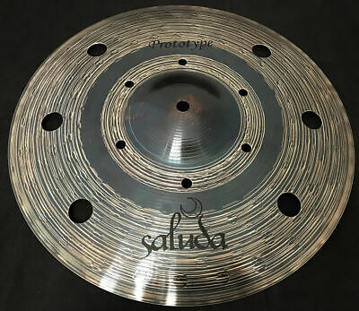 "New 12"" Saluda Prototype Swiss Vented Splash Cymbal"